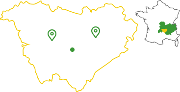 Carte des magasins Menuiserie Savel